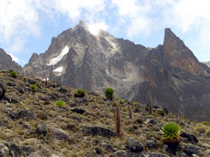 Group on Mt. Kenya